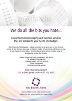Accountants A6 Leaflets by Templatecloud