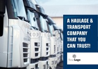 Logistics A5 Leaflets by Templatecloud
