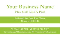 Sports Business Card  by Templatecloud