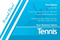 Tennis Business Card  by Templatecloud
