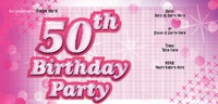 Birthday Party 1/3rd A4 Flyers by Templatecloud