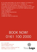 Accountancy A5 Leaflets by Templatecloud