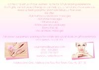 Beauty Salon A5 Leaflets by Templatecloud
