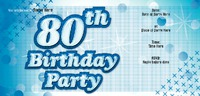 Birthday Party 1/3rd A4 Leaflets by Templatecloud