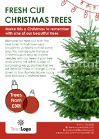 Garden Centres A6 Leaflets by Templatecloud