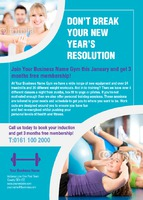 Gym A6 Leaflets by Templatecloud