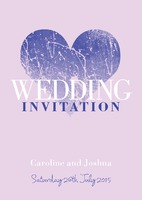 A5 Invitations by Templatecloud