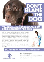 Dog Care A5 Leaflets by Templatecloud
