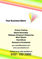 Painters and Decorators A6 Leaflets by Templatecloud