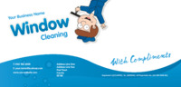 Window Cleaning 1/3rd A4 Stationery by Templatecloud