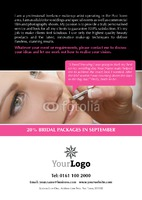 Make up A5 Leaflets by Templatecloud