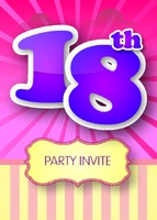Birthday Party A6 Leaflets by Templatecloud