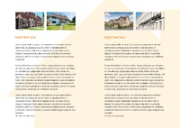 Estate Agent A4 Folded Leaflets by Templatecloud
