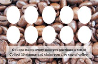 Coffee Shop Business Card  by Templatecloud