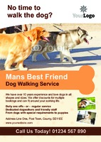 Pets A5 Flyers by Templatecloud