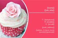 Bakery Business Card  - Back