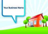 Home Maintenance A6 Business Cards by Templatecloud