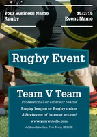 Sports A5 Leaflets by Templatecloud