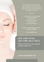 Beauticians A6 Flyers by Templatecloud