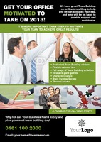 Corporate Event A5 Leaflets by Templatecloud