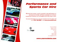 Car A4 Leaflets by Templatecloud