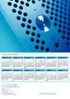A4 Calendar by Templatecloud