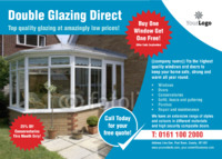 Window Fitters A6 Leaflets by Templatecloud