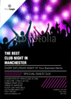 Clubs A6 Flyers by Templatecloud
