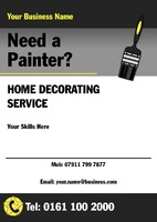 Painters and Decorators A5 Flyers by Templatecloud