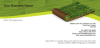 Garden Maintenance 1/3rd A4 Stationery by Templatecloud
