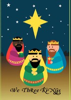 Religious Edit & Go: Regular (Folds to A6) Christmas Cards by Templatecloud