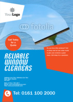 Cleaning A5 Flyers by Templatecloud