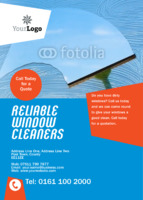 Cleaning A6 Flyers by Templatecloud