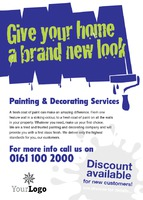 Home Improvement A6 Leaflets by Templatecloud