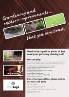 Home Maintenance A4 Flyers by Templatecloud