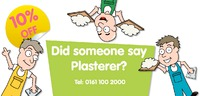 Plasterer 1/3rd A4 Leaflets by Templatecloud