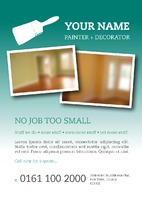 Painters and Decorators A5 Leaflets by Templatecloud