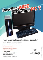 Techniciens informatique A6 Flyers par Templatecloud