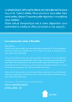 Agents immobilier A5 Flyers par Templatecloud