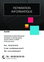 Techniciens informatique A6 Tracts par Templatecloud