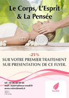 Salon de beauté A5 Flyers par Templatecloud