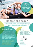 Gym A4 Tracts par Templatecloud