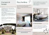 Hôtel A4 Dépliants par Templatecloud