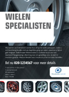 Automotive A5 flyers door Templatecloud