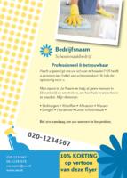 Onderhoud Aan Het Huis A6 flyers door Templatecloud