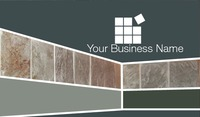 """Home Maintenance 2"""" x 3.5"""" Business Cards by Tony Elmore"""