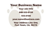 "Pet Care 2"" x 3.5"" Business Cards by Templatecloud"