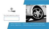 "Garage Services 2"" x 3.5"" Business Cards by SC Creative"
