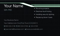 "Electrician 2"" x 3.5"" Business Cards by Kevin Walls"