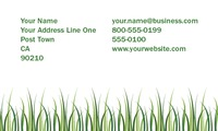 "Lawn Maintenance 2"" x 3.5"" Business Cards by Templatecloud"